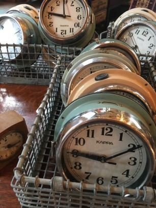 West End Salvage clocks